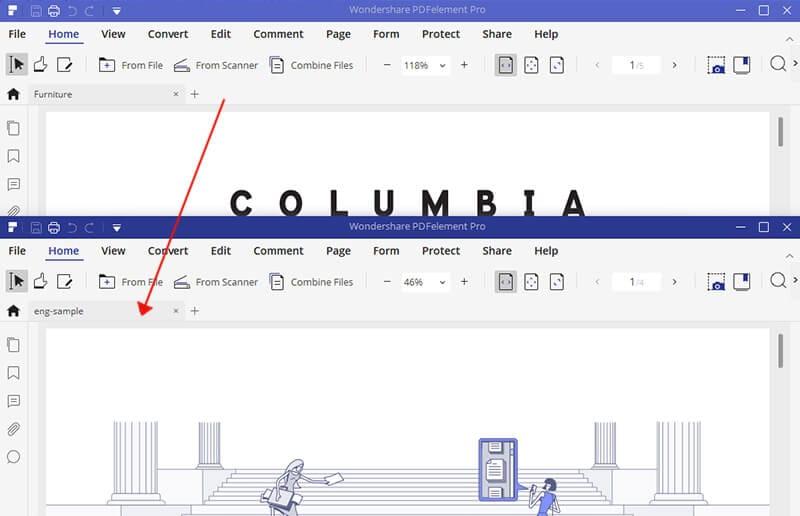 confronta word e pdf
