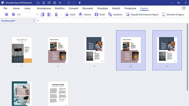 duplicazione delle pagine