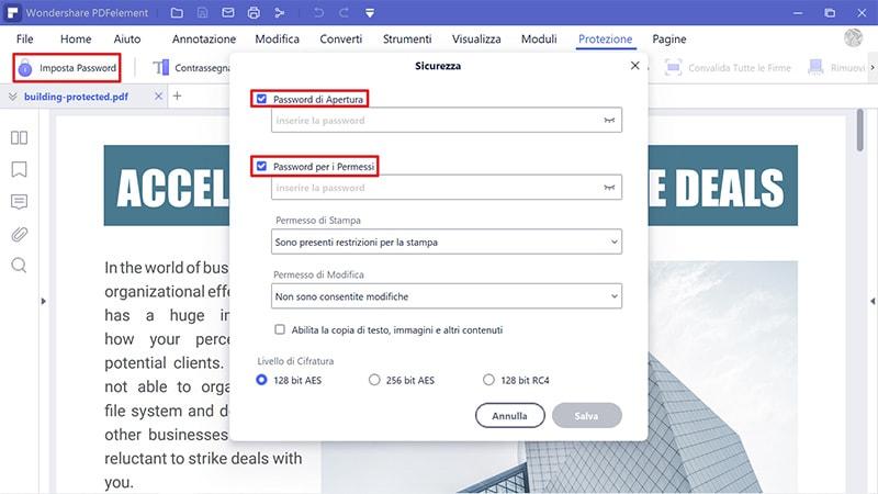 Modifica pdf windows